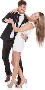 Ein Tanzpaar